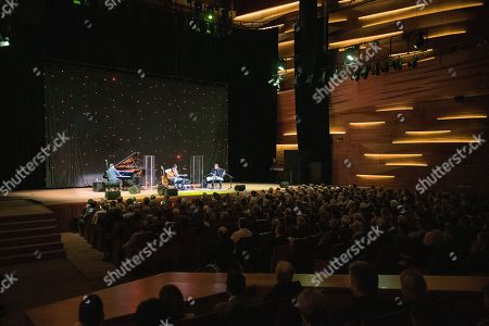 Editorial image of Al Di Meola  concert in Hungary, Pecs - 15 Mar 2019