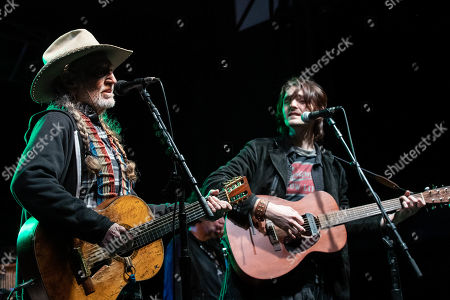 Willie Nelson and Micah Nelson