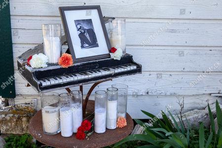 Stock Picture of A shrine to Sammy Davis Jr.