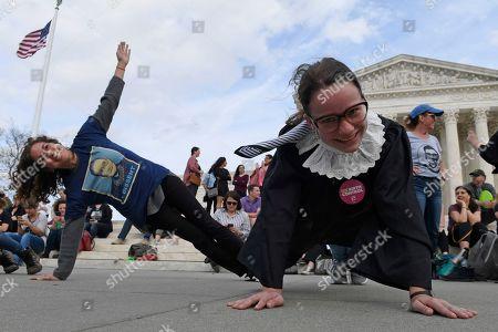 Editorial photo of Supreme Court Ginsburg Birthday, Washington, USA - 15 Mar 2019