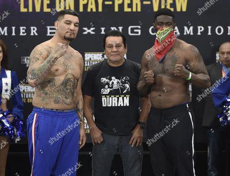 Roberto Duran,Chris Arreola,Jean Pierre Augustin