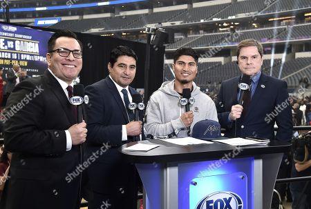 Stock Picture of Mikey Garcia,Adrian Garcia Marquez, Erik Morales,Jessi Losada