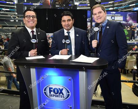 Stock Photo of Adrian Garcia Marquez, Erik Morales,Jessi Losada