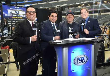 Editorial image of Fox Sports PBC Pay-Per-View World Welterweight Championship Fight, Spence v Garcia, Dallas, USA - 15 Mar 2019
