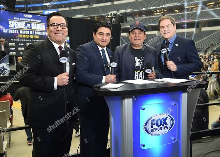 Editorial picture of Fox Sports PBC Pay-Per-View World Welterweight Championship Fight, Spence v Garcia, Dallas, USA - 15 Mar 2019
