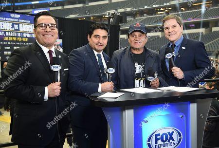Roberto Duran,Adrian Garcia Marquez, Erik Morales,Jessi Losada