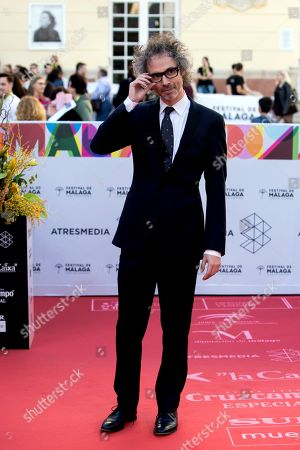James Rhodes arrives for the opening gala of the Malaga Film Festival, at the Cervantes Theatre in Malaga, Spain, 15 March 2019. The film festival runs from 15 to 24 March.