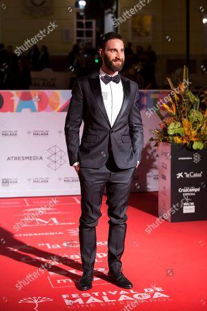 Dani Rovira arrives for the Spanish Film Festival opening gala at Cervantes Theatre in Malaga, Spain, 15 March 2019. The film festival runs from 15 to 24 March.