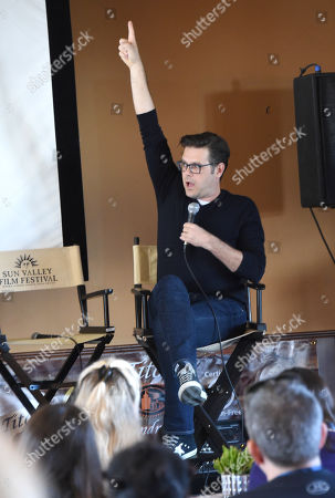 Phil Johnston attends the 2019 Sun Valley Film Festival Screenwriter's Lab presented by Variety, held at the Tito's Loft in Sun Valley, ID
