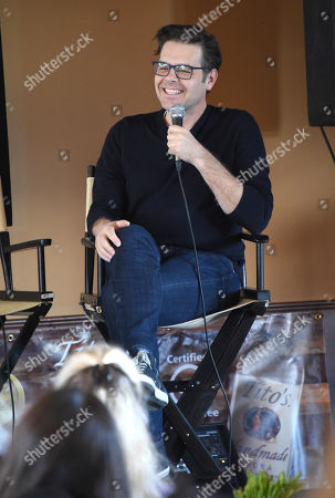 Stock Picture of Phil Johnston attends the 2019 Sun Valley Film Festival Screenwriter's Lab presented by Variety, held at the Tito's Loft in Sun Valley, ID