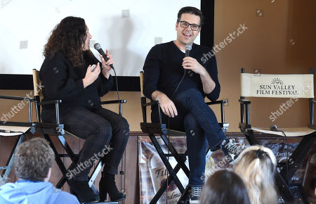 Stock Photo of Phil Johnston attends the 2019 Sun Valley Film Festival Screenwriter's Lab presented by Variety, held at the Tito's Loft in Sun Valley, ID