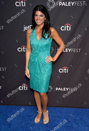 """Maureen J. Reidy, president and CEO, The Paley Center for Media, arrives at a screening of """"The Marvelous Mrs. Maisel"""" during the 36th annual PaleyFest at the Dolby Theatre, in Los Angeles"""