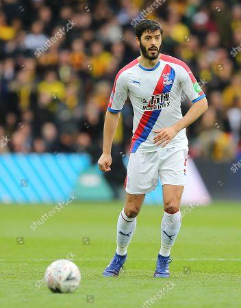James Tomkins of Crystal Palace