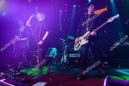 Editorial picture of Desperate Journalist in concert, The Hare And Hounds, Birmingham, UK - 14 Mar 2019