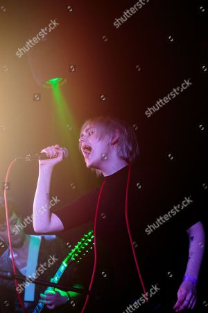 Editorial image of Desperate Journalist in concert, The Hare And Hounds, Birmingham, UK - 14 Mar 2019