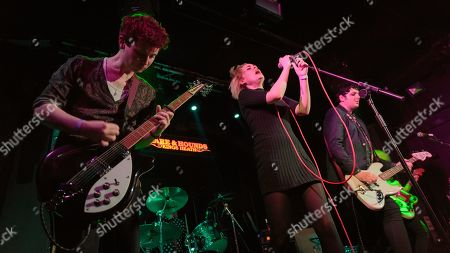 Editorial photo of Desperate Journalist in concert, The Hare And Hounds, Birmingham, UK - 14 Mar 2019