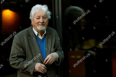 French anthropologist Marc Auge poses during an interview with Spanish international news agency EFE on the occasion of the presentation of his book 'Small Happinesses' in Barcelona, northeastern Spain, 16 March 2019.