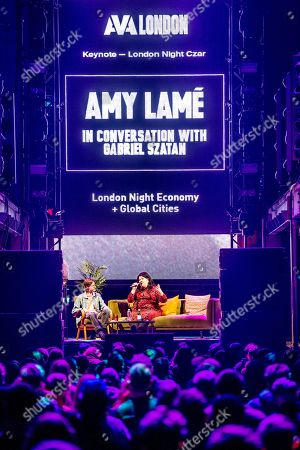 AVA London 2019 at Printworks - Amy Lame (London Night Tzar), Seamas O'Reilly