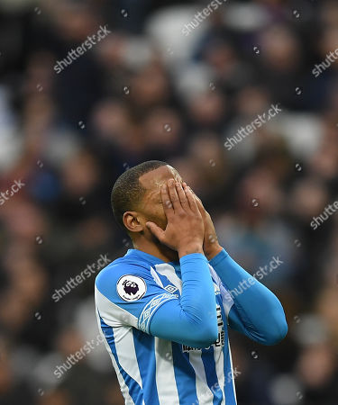 Editorial picture of West Ham United v Huddersfield Town, Premier League, Football, London Stadium, London, UK - 16 Mar 2019