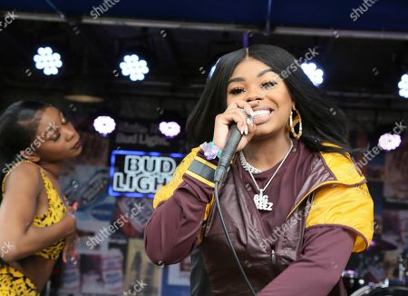Dreezy performs at the Bud Light Dive Bar during the South by Southwest Music Festival, in Austin, Texas