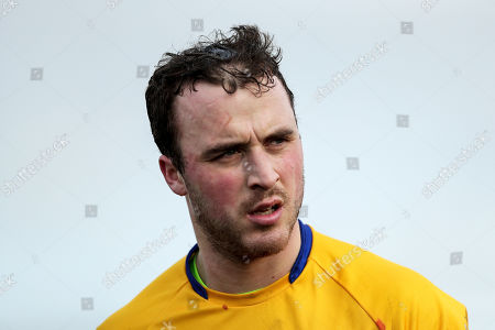 Waterford vs Clare. Clare's Patrick O'Connor dejected