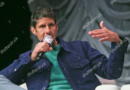 The Beastie Boys' Michael Diamond takes part in a keynote conversation at the Austin Convention Center during the South by Southwest Music Festival, in Austin, Texas