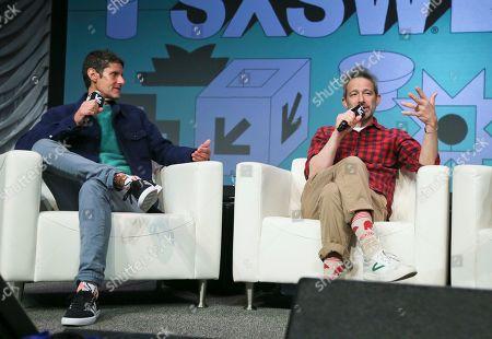 Editorial image of 2019 SXSW - Adam Horovitz and Michael Diamond, Austin, USA - 15 Mar 2019