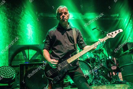 Stock Picture of The Stranglers, Jean-Jacques Burnel