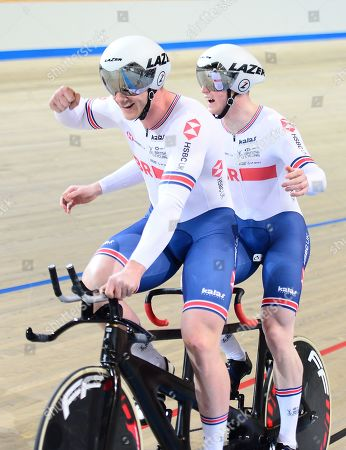 Men's B 1KM Time Trial Tandem Final James Ball piloted by Peter MITCHELL take the win and World title