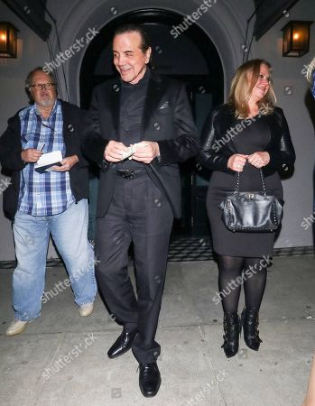 Chazz Palminteri and Gianna Palminteri outside Craig's Restaurant in West Hollywood