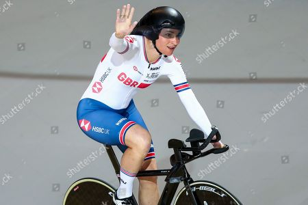 Sarah Storey of Great Britain wins Gold in the Women's C5 Individual Pursuit final.