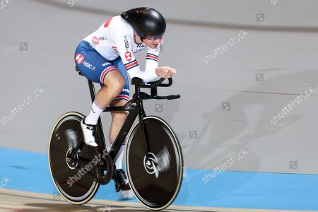 Stock Photo of Sarah Storey of Great Britain wins Gold in the Women's C5 Individual Pursuit final.