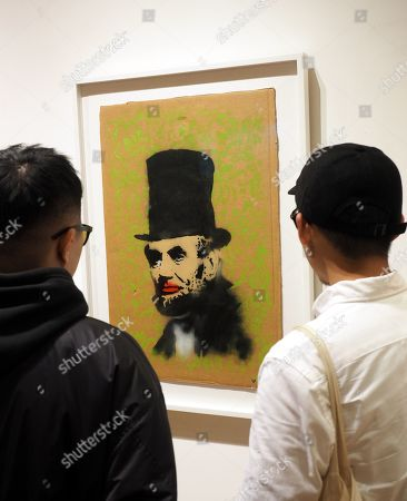 Banksy exhibition Taipei Stock Photos (Exclusive)   Shutterstock
