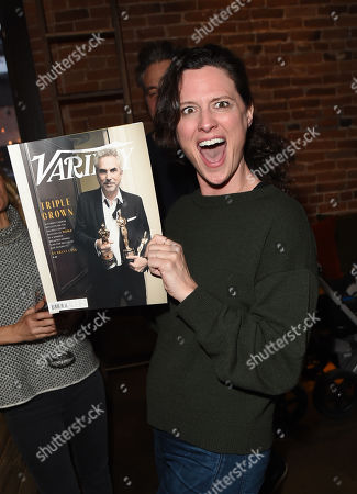 Stock Image of Jennifer Lafleur attends the 2019 Sun Valley Film Festival Pioneer Dinner presented by Variety, held at the Enoteca in Sun Valley, ID