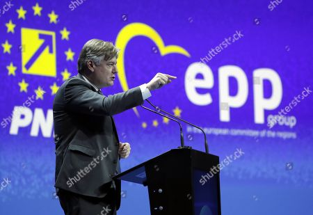 Editorial picture of EPP lunched Manferd Weber as candidate for the Presidency of the European Commission at EPP Summit in Bucharest, Romania - 16 Mar 2019