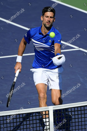 Editorial picture of Tennis, Indian Wells, USA - 16 Mar 2019