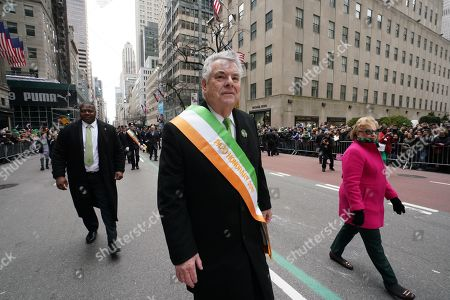 Image result for peter king st patrick's day parade new york