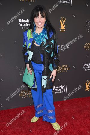Loreen Arbus arrives at the 39th College Television Awards presented by the Television Academy Foundation at the Saban Media Center, in the NoHo Arts District in Los Angeles