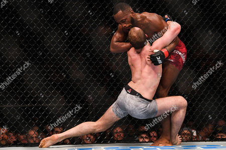 Stock Image of Gunnar Nelson and Leon Edwards