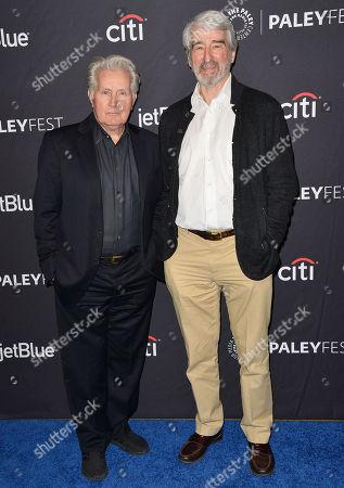Martin Sheen and Sam Waterston
