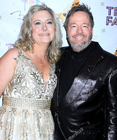 Stock Photo of Terry Fator, Angie Fator