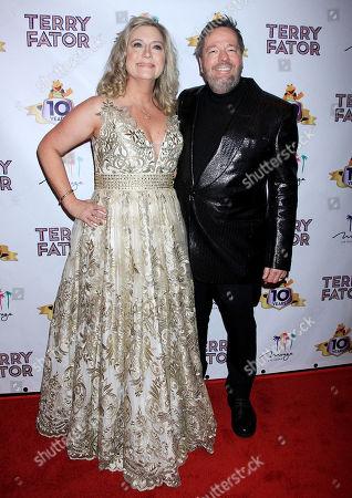 Terry Fator, Angie Fator