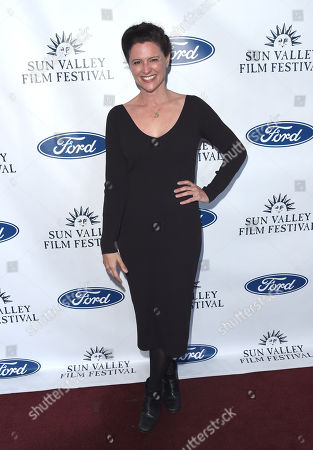 Stock Photo of Jennifer Lafleur attends the 2019 Sun Valley Film Festival Vision Dinner presented by Ford held at The Roundhouse in Sun Valley, ID