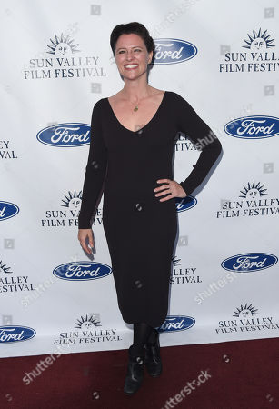 Jennifer Lafleur attends the 2019 Sun Valley Film Festival Vision Dinner presented by Ford held at The Roundhouse in Sun Valley, ID