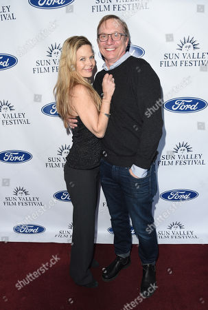 Stock Image of Jim Burke attends the 2019 Sun Valley Film Festival Vision Dinner presented by Ford held at The Roundhouse in Sun Valley, ID