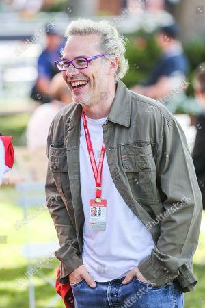 Jacques Villeneuve attends race day on day 4 of the 2019 Formula 1 Australian Grand Prix