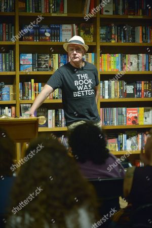 Editorial image of Irvine Welsh 'Dead Man's Trousers' book signing, Coral Gables, Florida, USA - 14 Mar 2019