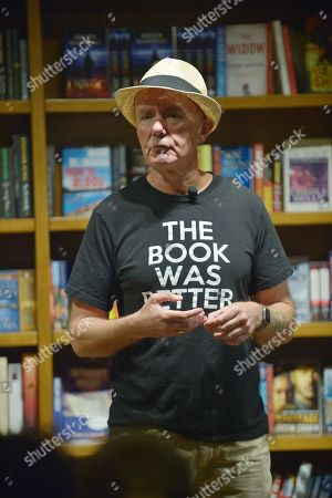 Editorial photo of Irvine Welsh 'Dead Man's Trousers' book signing, Coral Gables, Florida, USA - 14 Mar 2019
