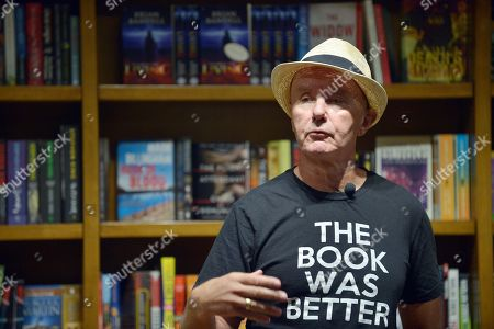 Editorial picture of Irvine Welsh 'Dead Man's Trousers' book signing, Coral Gables, Florida, USA - 14 Mar 2019