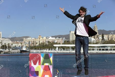 Spanish actor and cast member Salva Reina poses for photographers during the presentation of the film 'Antes de la quema' (Lit: Before the burning) by Spanish director Fernando Colomo at the Malaga Film Festival, in Malaga, Spain, 17 March 2019. The Malaga Film Festival will take place from 15 to 24 March.